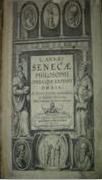Philosophy by Seneca (in Latin), 1615