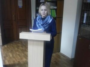 Учений секретар ДНПБ України ім. В. О. Сухомлинського, кандидат історичних наук С. М. Зозуля