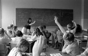 Juni 1988 Bonn Gymnasium - Englischunterricht